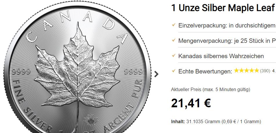 Wird der Preis für Silber explodieren?
